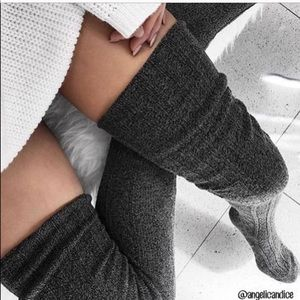 Luxury 🤩 Cable Knit Thigh High socks